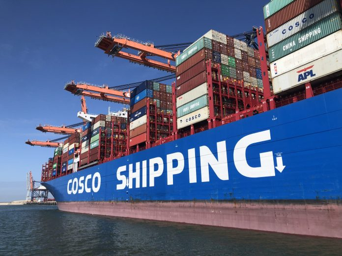 Cosco shipping Port of Rotterdam