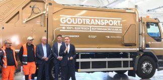Goudtransport elektrisch Rotterdam Circulair