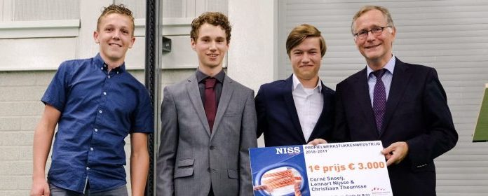 Winnaars NISS Maritieme Profielwerkstukkenwedstrijd