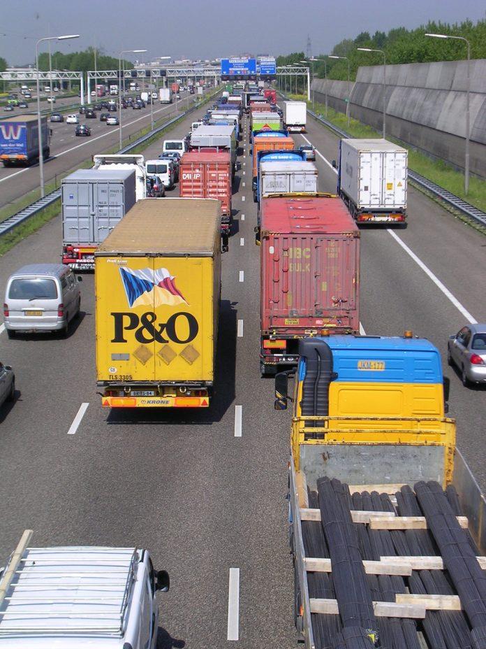 A15 snelweg foto